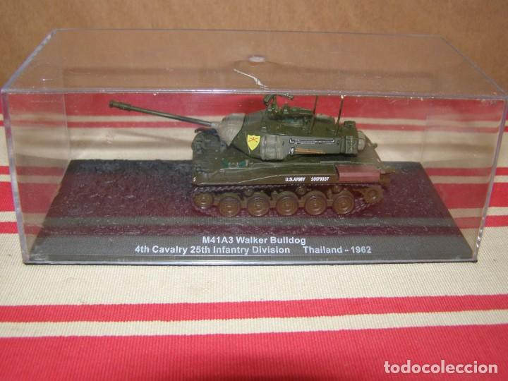 Coches a escala: Colección de vehículos militares Ech 1/43: M41A3 Walker Bulldog (Tailandia 1962) - Foto 4 - 287769303