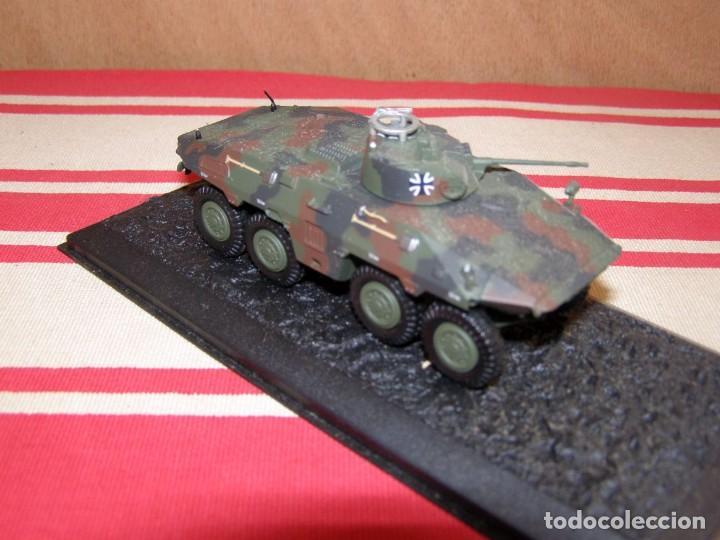 Coches a escala: Colección de vehículos militares Ech 1/43: Spähpanzer Luchs (Augustdorf Alemania 2000) - Foto 2 - 287770383
