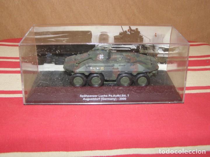 Coches a escala: Colección de vehículos militares Ech 1/43: Spähpanzer Luchs (Augustdorf Alemania 2000) - Foto 4 - 287770383