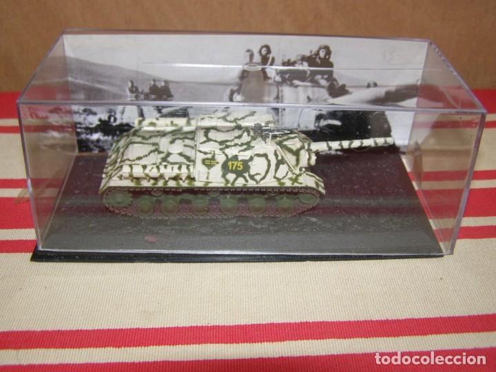 Coches a escala: Colección de vehículos militares Ech 1/43: ISU-152 5Tl (Prusia Oriental 1945) - Foto 4 - 287770808