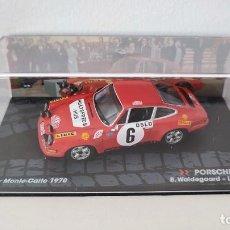 Coches a escala: PORSCHE 911 S - B. WALDEGAARD - RALLY MONTECARLO 1970 (ESCALA 1/43). Lote 289630793