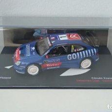 Coches a escala: CITROEN XSARA WRC - S. LOEB - RALLY FINLANDIA 2006 (ESCALA 1/43). Lote 289632073