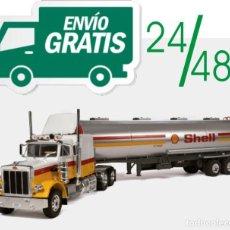 Auto in scala: PETERBILT 359 + FASCÍCULO 1 CAMIONES AMERICANOS 1/43. Lote 289769078