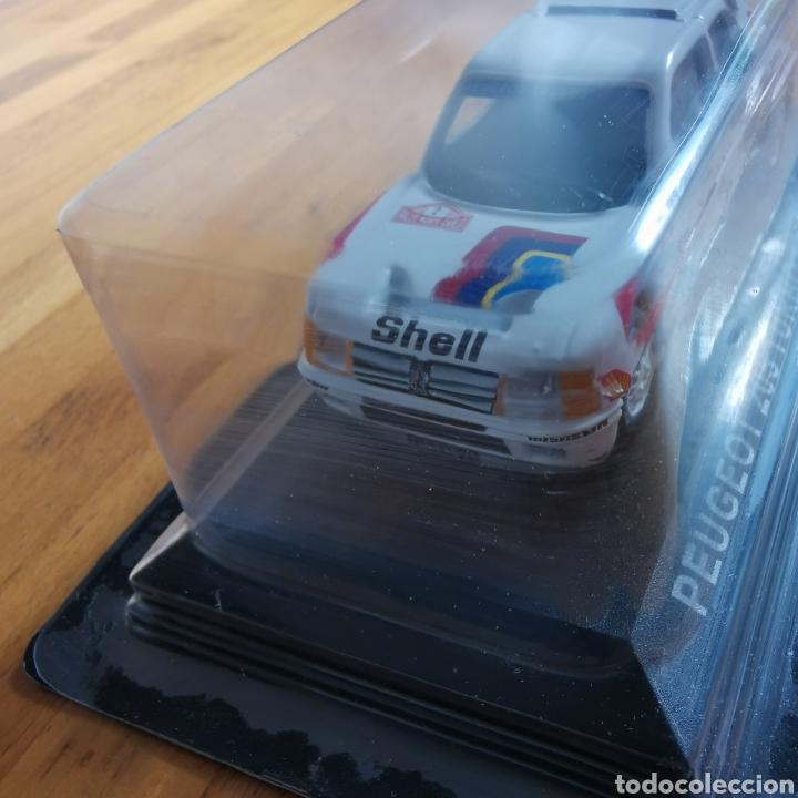Coches a escala: Coche de metal escala 1/43 Peugeot 205 Turbo 16 Rally de Montecarlo 1985. A. Vatanen - Foto 4 - 293631608