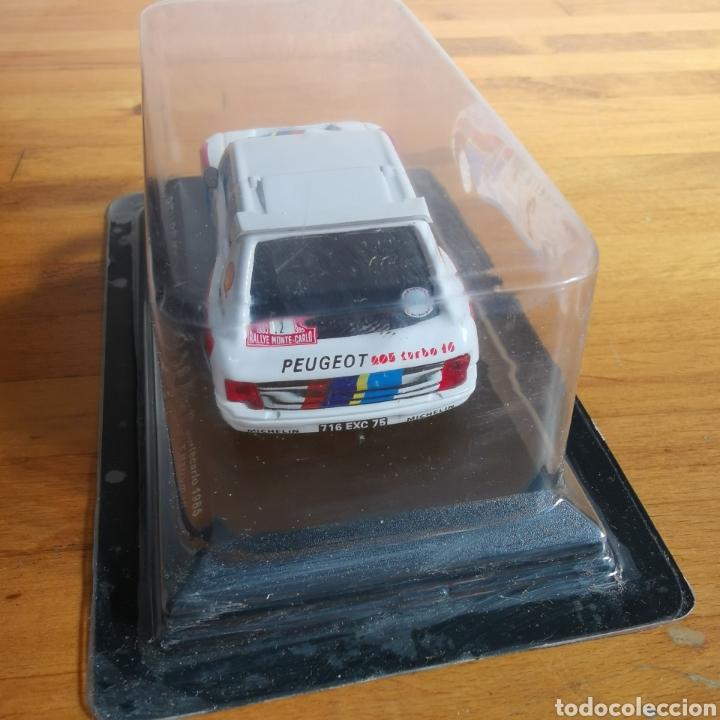Coches a escala: Coche de metal escala 1/43 Peugeot 205 Turbo 16 Rally de Montecarlo 1985. A. Vatanen - Foto 5 - 293631608