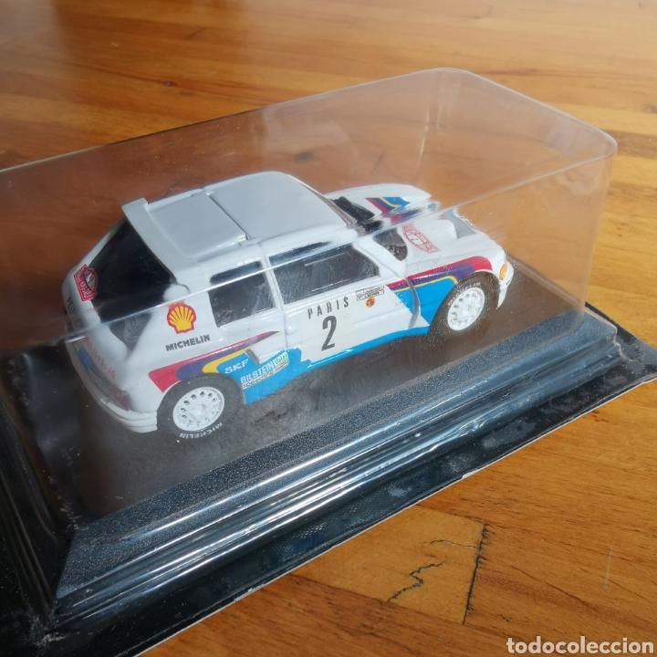 Coches a escala: Coche de metal escala 1/43 Peugeot 205 Turbo 16 Rally de Montecarlo 1985. A. Vatanen - Foto 6 - 293631608