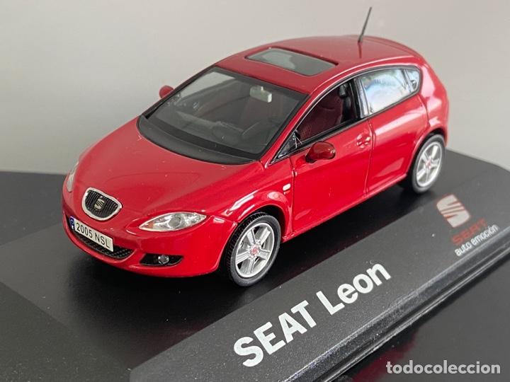 Coches a escala: 1/43 Seat Leon 2005 (RAREZA con techo solar) - Foto 2 - 293634073
