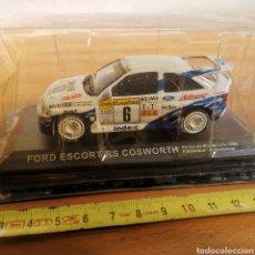 Carros em escala: COCHE DE METAL ESCALA 1/43 FORD ESCORT RS COSWORTH RALLYE DE MONTECARLO 1994, F. DELECOUR,. Lote 295647708