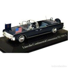Auto in scala: LINCOLN CONTINENTAL LIMOUSINE SS-100-X KENNEDY COCHE PRESIDENCIAL 1:43 NOREV MAL VITRINA. Lote 295732393