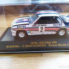Coches a escala: COCHE OPEL ASCONA 400 - RALLY MONTE CARLO 1982 - RALLY CAR - ALTAYA. Lote 296013468