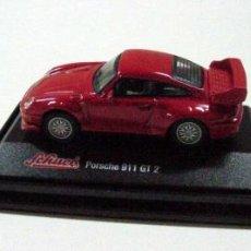 Coches a escala: PORSCHE 911 GT 2 ROJO DE SCHUCO. Lote 27293533