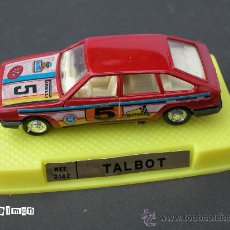 Coches a escala: COCHES _ REF. 2142 TALBOT - - AÑOS 70 - M.I.B.. Lote 26967794