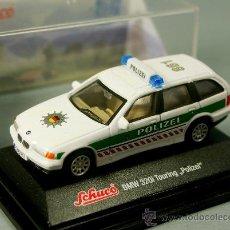 Coches a escala: BMW 320I TOURING POLIZEI POLICE - ESCALA 1/72 - SCHUCO - NUEVO EN CAJA. Lote 28032810