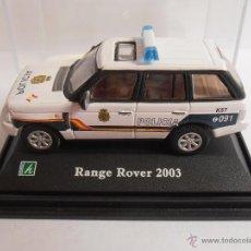 Coches a escala: COCHE RANGE ROVER 2003 POLICIA NACIONAL 091 EN URNA ESC 1/72. Lote 161754853