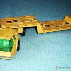 Modellautos - TRANSPORTADOR REMOLQUE TRAYLER MARCA GHISVAL ESPAÑOLA EN PLOMO 25 CM DE LARGO - 44860531
