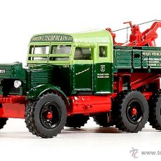 Coches a escala: CAMIÓN GRÚA SCAMMELL PIONEER - OXFORD DIECAST 1/76. Lote 49056667