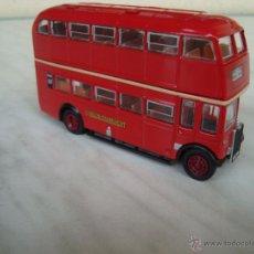 Coches a escala: AUTOBUS DE 2 PISOS LONDON BUS.ESCALA 1,72 METAL. Lote 50750295