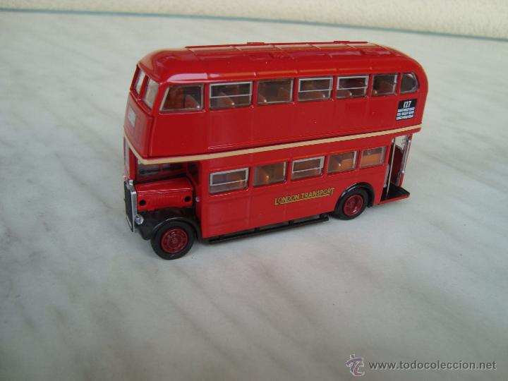 Coches a escala: AUTOBUS DE 2 PISOS LONDON BUS.ESCALA 1,72 METAL - Foto 2 - 50750295
