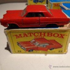 Auto in scala: MATCHBOX PPONTIAC SPORT COUPE Nº 22 MUY BUEN ESTADO EN CAJA,BARATO. Lote 50818568