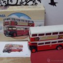Coches a escala: CORGI DIECAST BUS LONDON TYPE AEC REGENT PMT 1:72 SCALE. NEW BOXED LIMITED EDITION.LOTE DE DOS IGUA. Lote 52769275