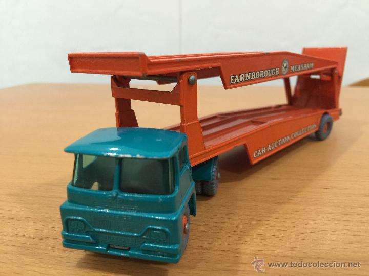 Coches a escala: LESNEY MATCHBOX CAMION GUY WARRIOR TRACTOR NUM 8 - Foto 2 - 53771925