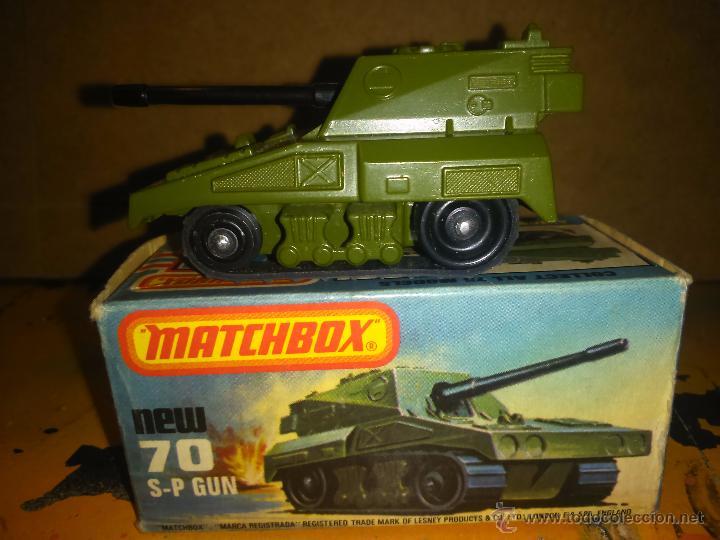 MATCHBOX 75--SP GUN (Juguetes - Coches a Escala 1:72)