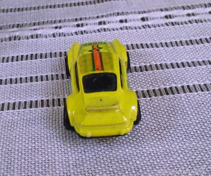 Coches a escala: Porsche 911 Turbo de Hot Wheels a escala 1:72.Chevy Mini Automagic.1974. Mattel. Hotwheels. Metal. - Foto 6 - 61102255