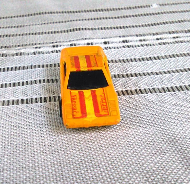 Coches a escala: Ferrari 308 GTS/GTB de Hot Wheels a escala 1:72.Chevy Mini Automagic.1977. Mattel. Hotwheels. Metal. - Foto 2 - 61102503