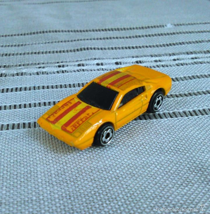Coches a escala: Ferrari 308 GTS/GTB de Hot Wheels a escala 1:72.Chevy Mini Automagic.1977. Mattel. Hotwheels. Metal. - Foto 3 - 61102503