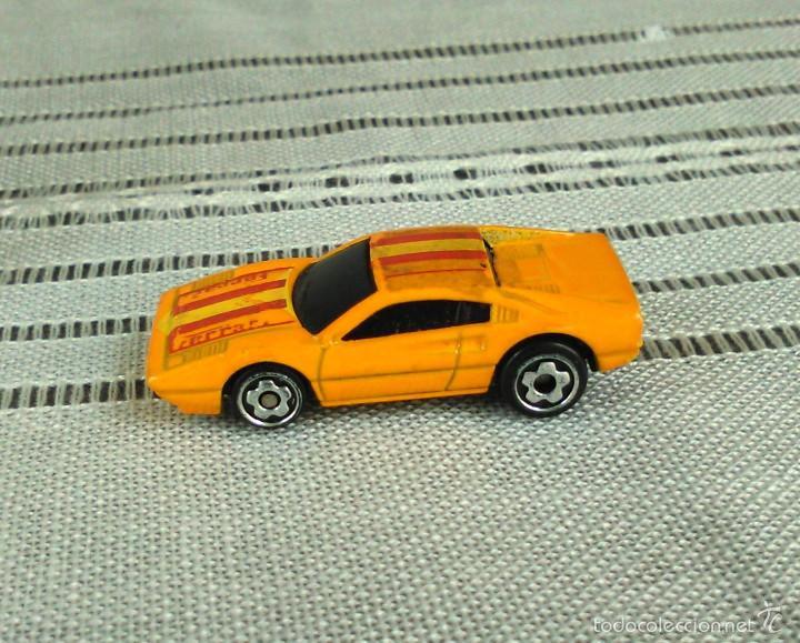 Coches a escala: Ferrari 308 GTS/GTB de Hot Wheels a escala 1:72.Chevy Mini Automagic.1977. Mattel. Hotwheels. Metal. - Foto 4 - 61102503