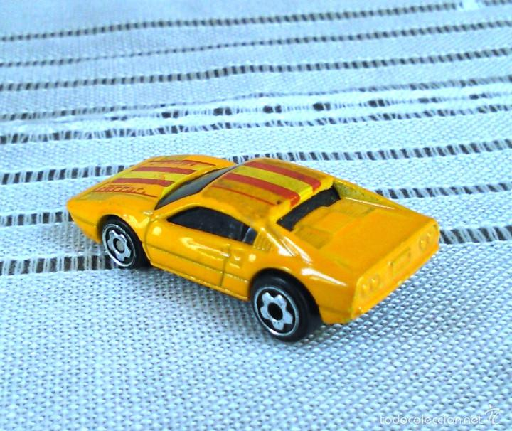 Coches a escala: Ferrari 308 GTS/GTB de Hot Wheels a escala 1:72.Chevy Mini Automagic.1977. Mattel. Hotwheels. Metal. - Foto 5 - 61102503