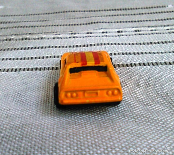 Coches a escala: Ferrari 308 GTS/GTB de Hot Wheels a escala 1:72.Chevy Mini Automagic.1977. Mattel. Hotwheels. Metal. - Foto 6 - 61102503