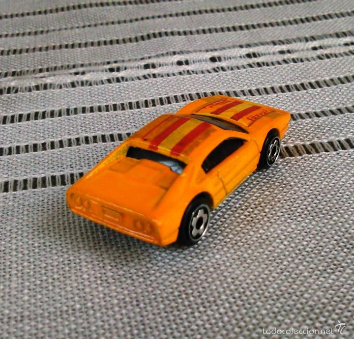 Coches a escala: Ferrari 308 GTS/GTB de Hot Wheels a escala 1:72.Chevy Mini Automagic.1977. Mattel. Hotwheels. Metal. - Foto 7 - 61102503