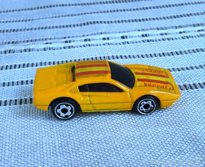 Coches a escala: Ferrari 308 GTS/GTB de Hot Wheels a escala 1:72.Chevy Mini Automagic.1977. Mattel. Hotwheels. Metal. - Foto 8 - 61102503