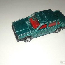 Coches a escala: COCHE DE METAL DE MAJORETTE MADE IN FRANCE VOLVO 760 GLE DIECAST. Lote 72382899