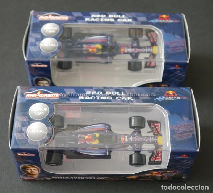 MAJORETTE - DOS COCHES RED BULL FORMULA 1 VETTEL WEBBER (Spielzeug - Modellautos im Maßstab 1:72)