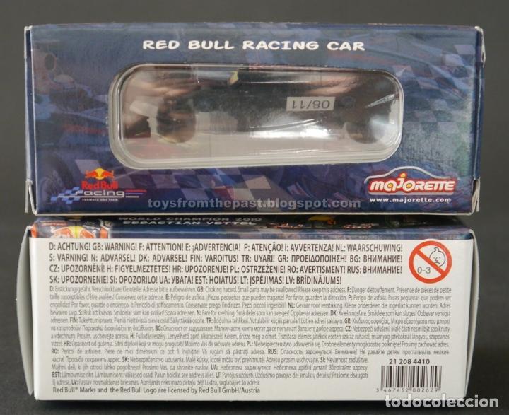 Modellautos: MAJORETTE - DOS COCHES RED BULL FORMULA 1 VETTEL WEBBER - Foto 4 - 110264874