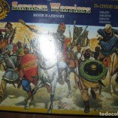 Coches a escala: MONTAPLEX ITALIANO HISTORICS SARRACENOS SARACENS WAIRRIORS CENTURIA COMPLETO 34 PIEZAS. Lote 96760663
