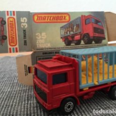 Coches a escala: MATCHBOX ZOO TRUCK. Lote 98622175