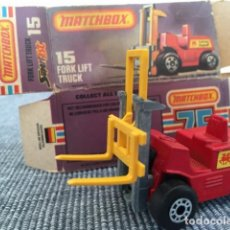 Coches a escala: MATCHBOX FORK LIFT TRUCK. Lote 98634991