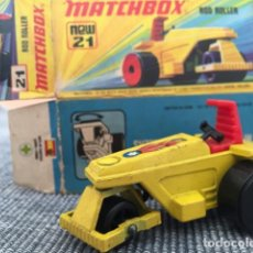 Coches a escala: MATCHBOX ROD ROLLER. Lote 98680607