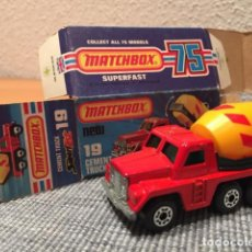 Model Cars - Matchbox Cement Truck - 99105171