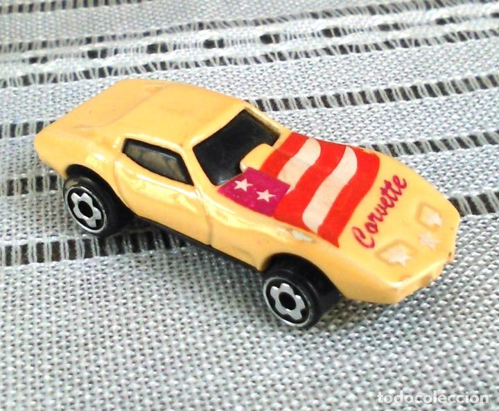 CHEVROLET CORVETTE DE HOT WHEELS A ESCALA 1:72.CHEVY MINI AUTOMAGIC.1975. MATTEL. HOTWHEELS. METAL. (Juguetes - Coches a Escala 1:72)