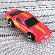 Model Cars - Chevrolet Camaro Iroc-Z 28 de Hot Wheels a escala 1:72.Chevy Mini Automagic.1983. Mattel. Hotwheels. - 61080883