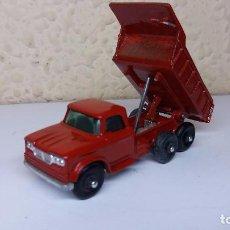 Model Cars - MATCHBOX LESNEY DUMPER TRUCK,REPINTADO.ESCALA 1/72. - 100390683