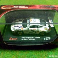Coches a escala: PORSCHE 911 GT3RS 2001 - SAICO - 1/72. Lote 104688299