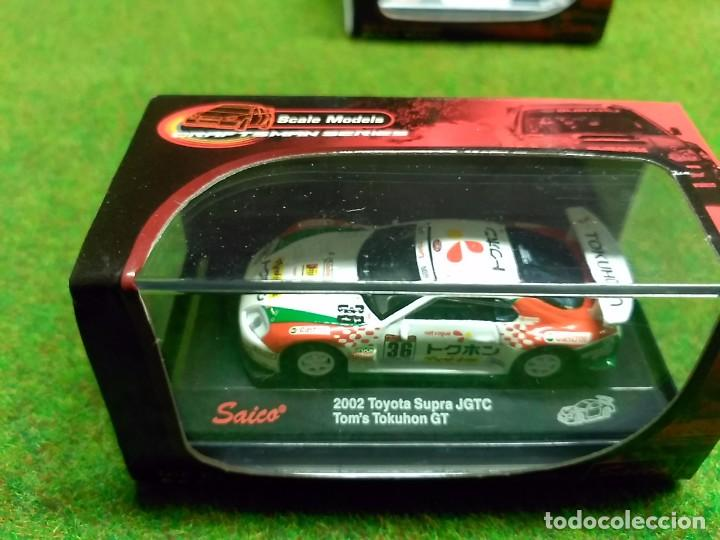 TOYOTA SUPRA JGTC 2002 - SAICO - 1/72 (Juguetes - Coches a Escala 1:72)