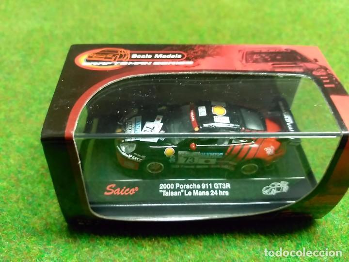 PORSCHE 911 GT3R 2000 - SAICO - 1/72 (Juguetes - Coches a Escala 1:72)
