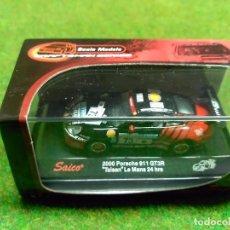Coches a escala: PORSCHE 911 GT3R 2000 - SAICO - 1/72. Lote 104779763