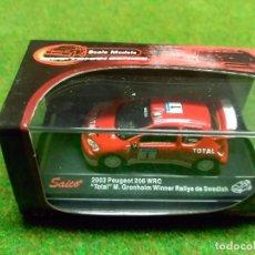 Coches a escala: PEUGEOT 206 WRC 2003 - SAICO - 1/72. Lote 104779859